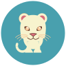 White Jaguar icon