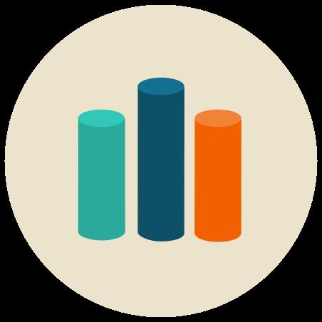 막대 차트 icon
