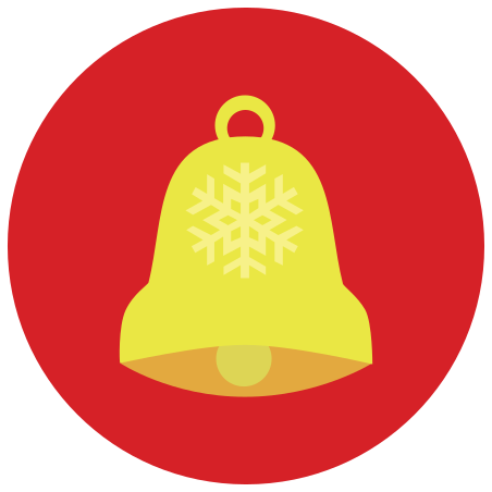 Jingle Bell icon in Infographic