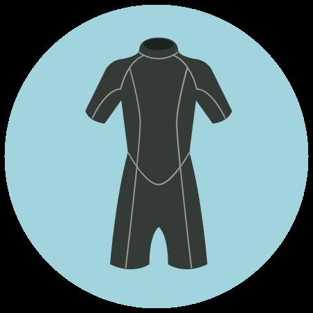 스쿠버 다이빙 수트 icon