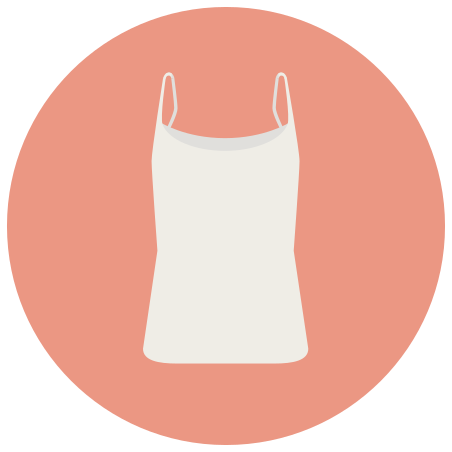 T-shirt With Thin Straps icon
