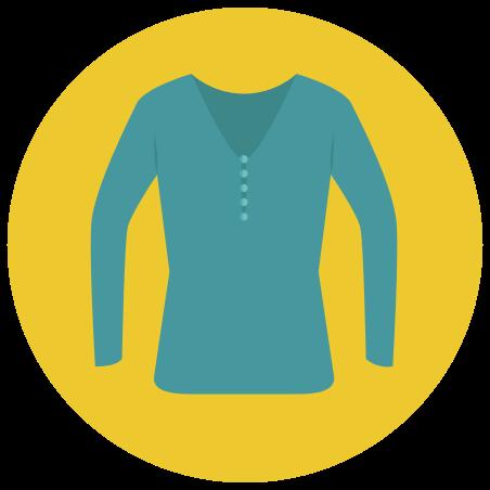 V-neck Longsleeve icon
