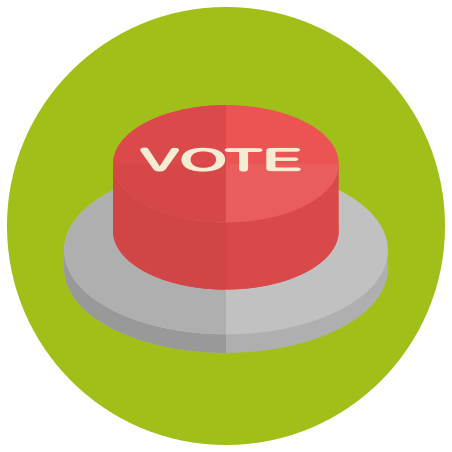 Vote Button icon