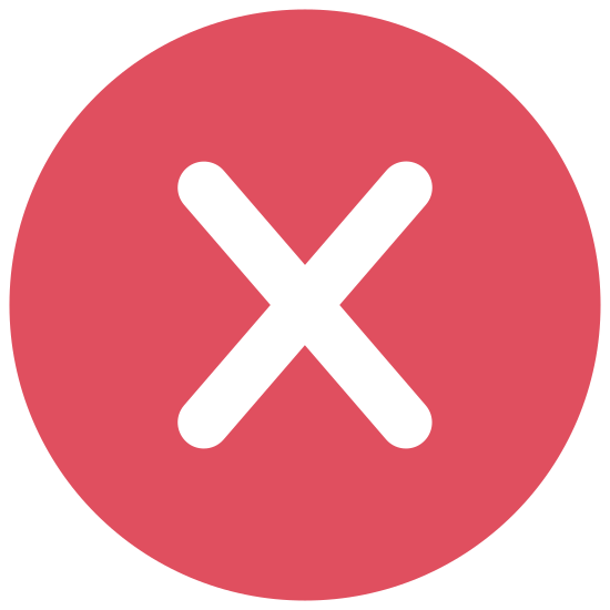 Eliminar icon. This is a very simple icon that is composed of two fairly long lines that meet in the middle and cross over each other to create an X shape. It looks just like the shape a pirate might use when marking a map to indicate where he buried his treasure.