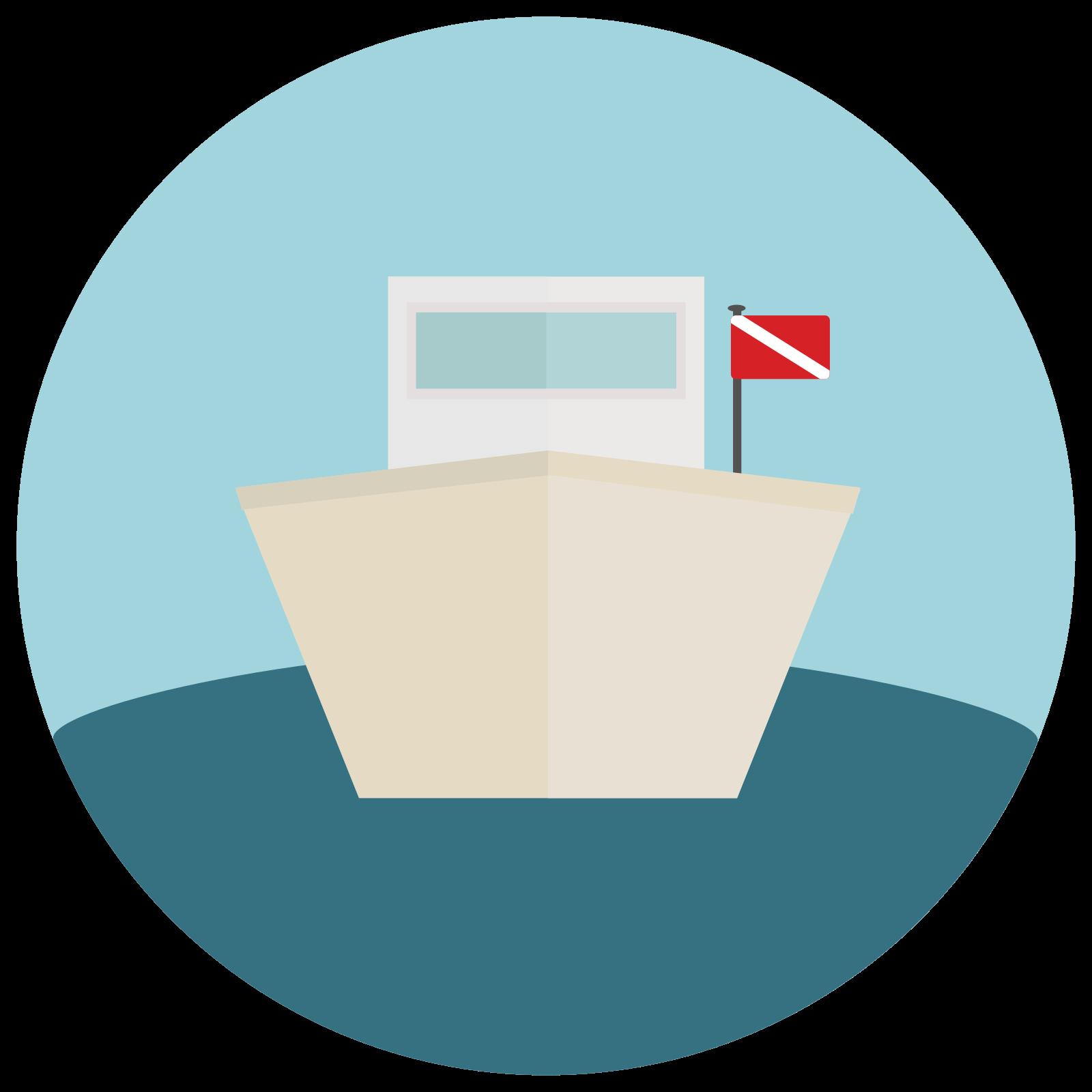 Dive Boat icon