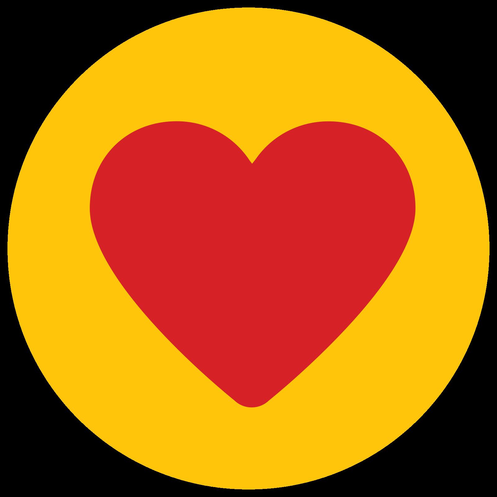 Serce wypełnione icon