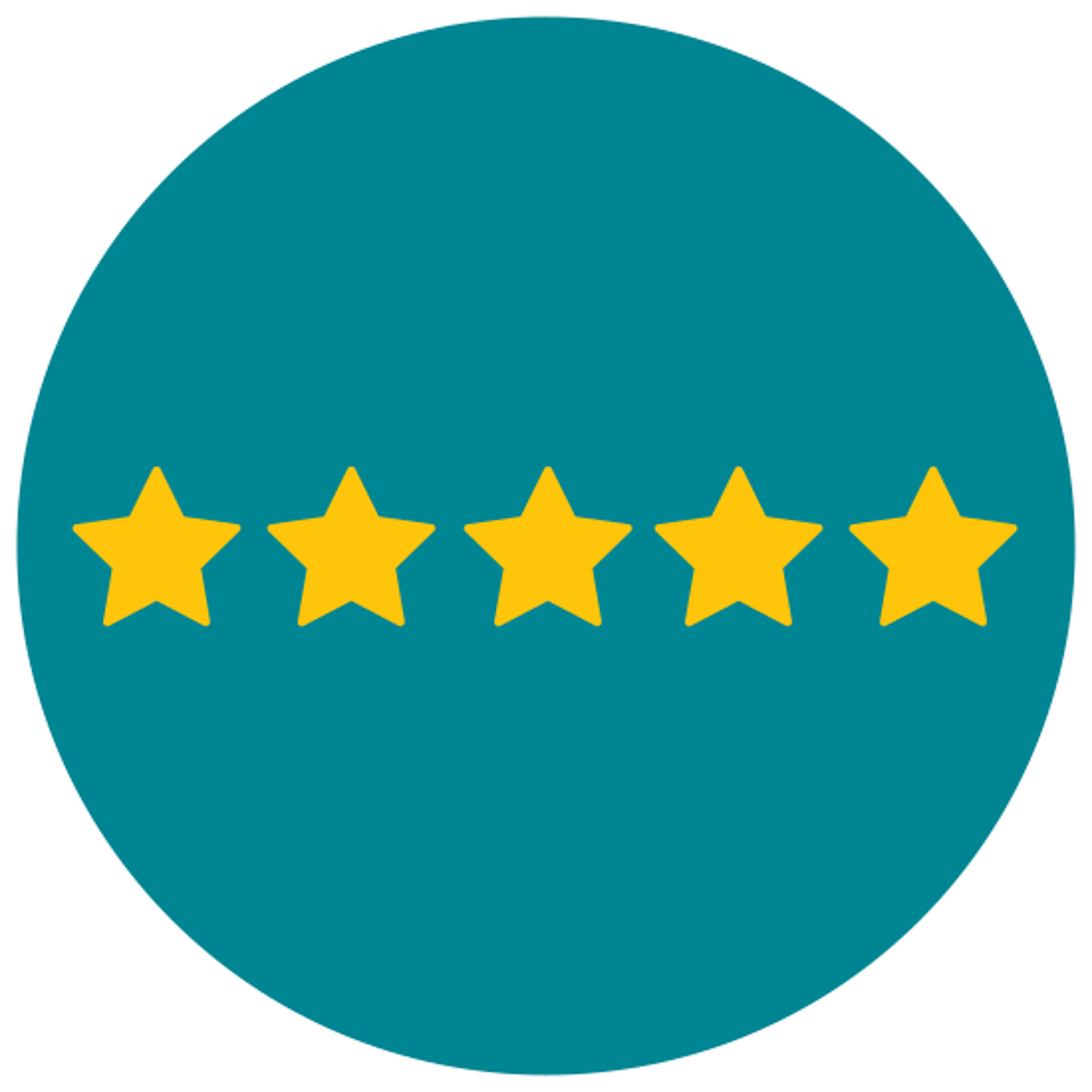 Five of Five Stars icon