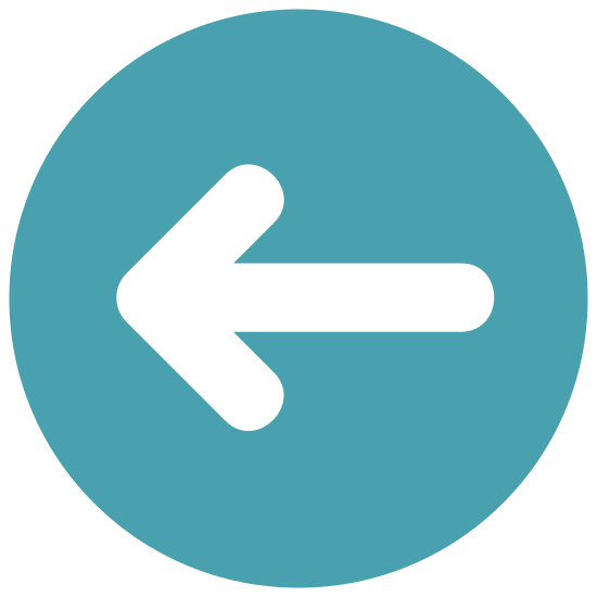 Left icon. This is an icon of an arrow pointed to the left. It looks like one that people put up to explain to turn left when giving directions. It is not very graphic it just consists on simple lines pointing left.
