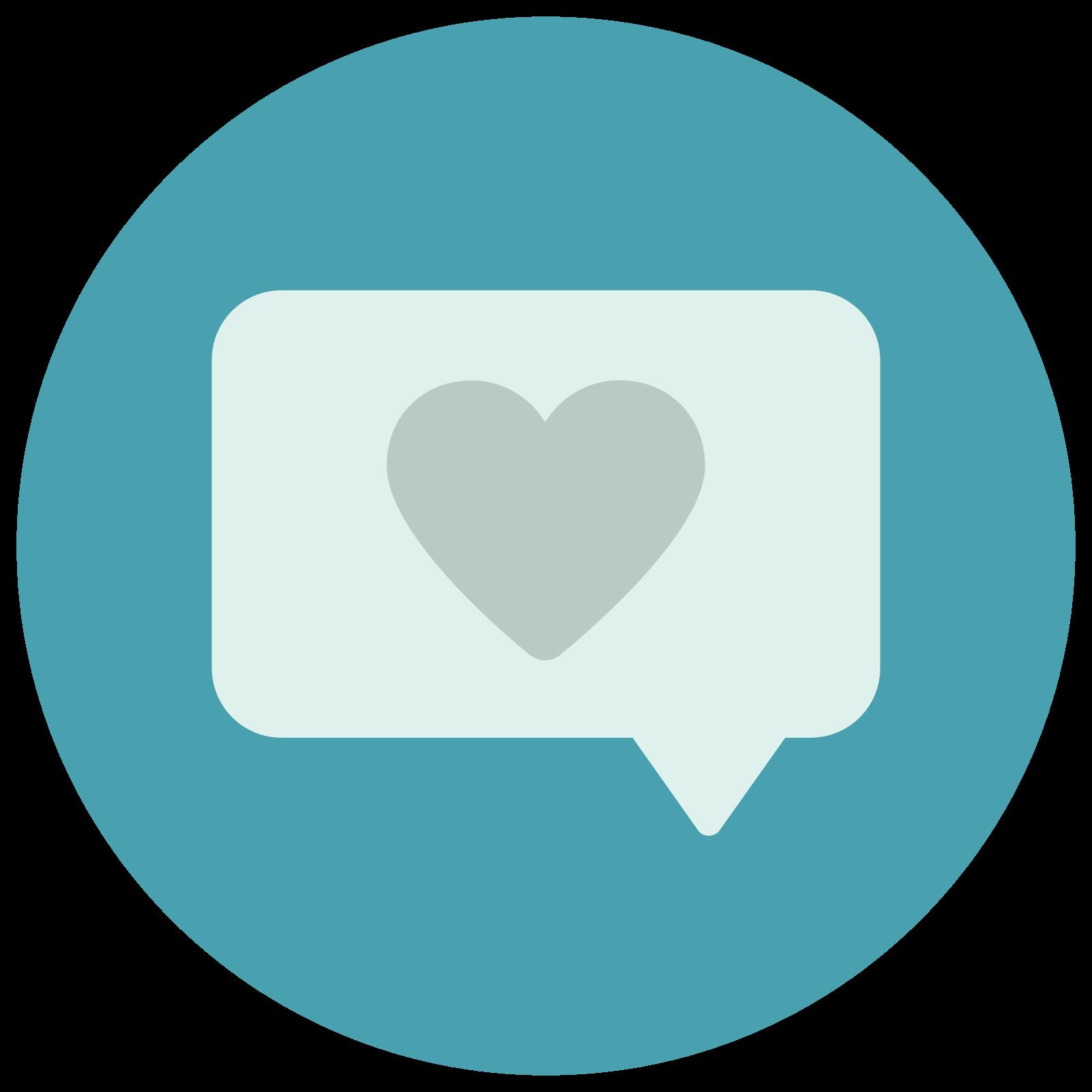 Mensagem de amor icon