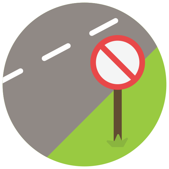 No Stopping icon