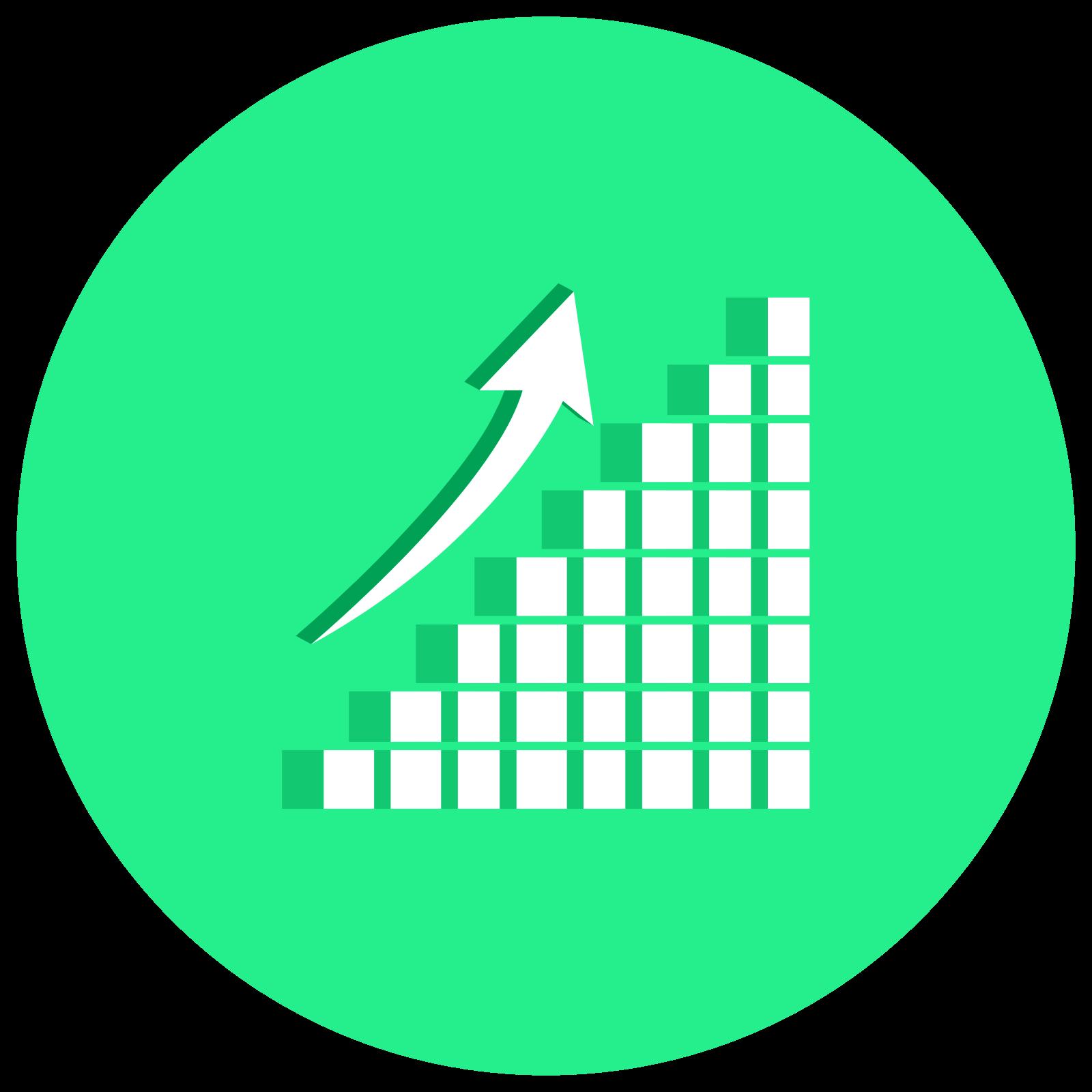 Profit Chart 3D icon