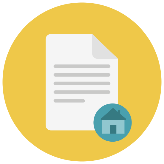 Rental House Contract icon