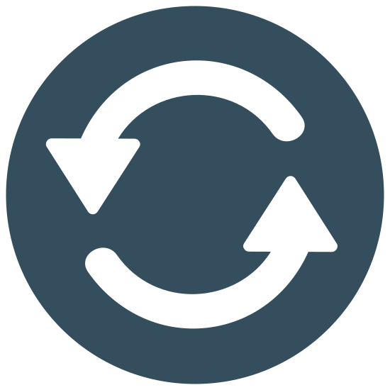 Update Left Rotation icon