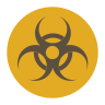 Hazardous Area Sign icon