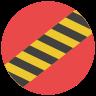 Linha de segurança icon