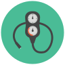 Scuba Pressure Gauge icon