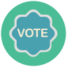 Vote Badge icon