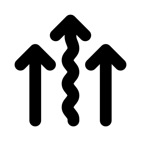 Competition Arrows icon in Fluency Systems Filled