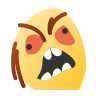 Angry Face Meme icon