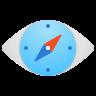 Compass Eye icon