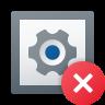 Delete Widget icon