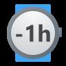 Minus 1 Hour icon