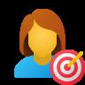 Purposeful Woman icon