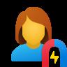 User Engagement Female icon