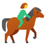 Woman on a Horse icon