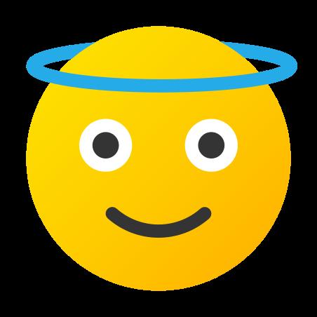 Angel icon in Fluency