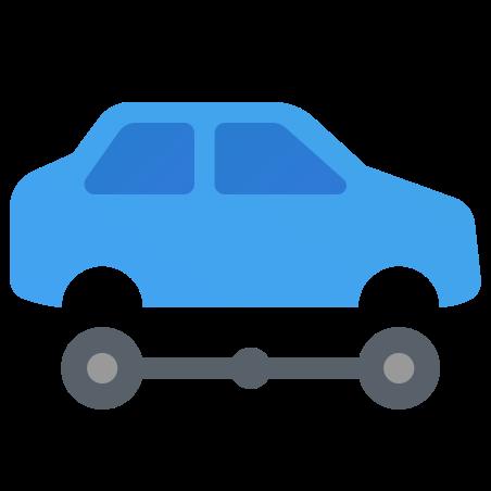 Automotive icon in Fluency