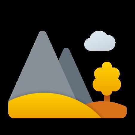 Autumn Landscape icon in Fluency