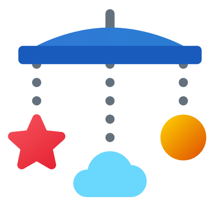 Baby Mobile icon in Fluency