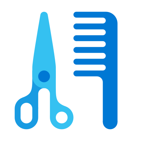Barbershop icon in Fluency