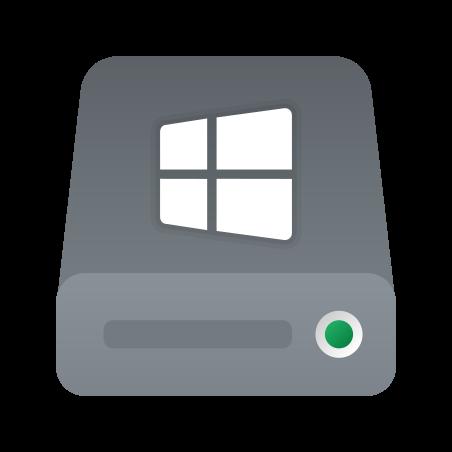 C Drive icon in Fluency