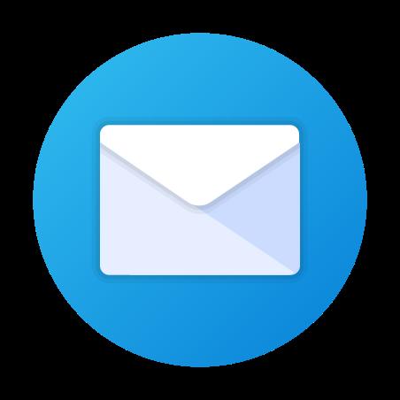 Circled Envelope icon in Fluency