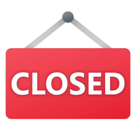 Closed Sign icon in Fluency