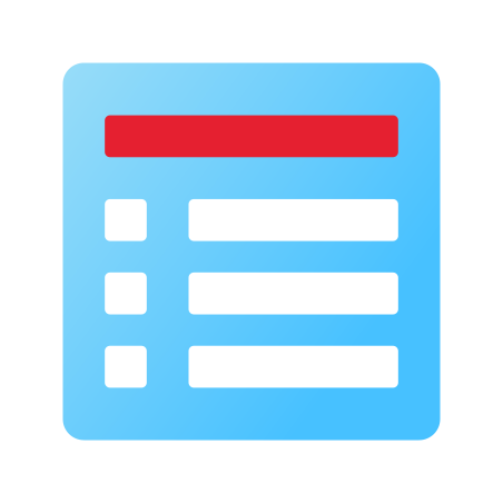 Day View icon in Fluency