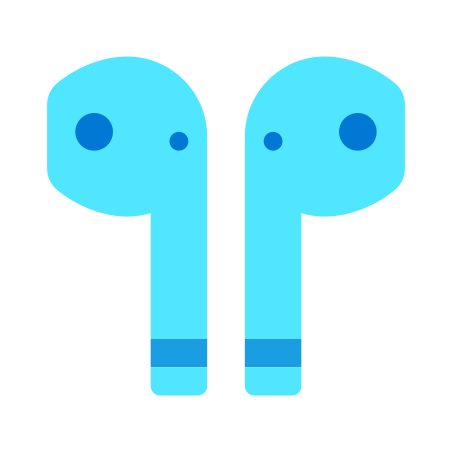 Earbud Headphones icon in Fluency