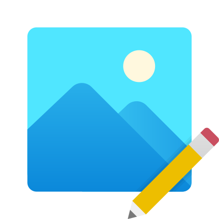 Edit Image icon in Fluency