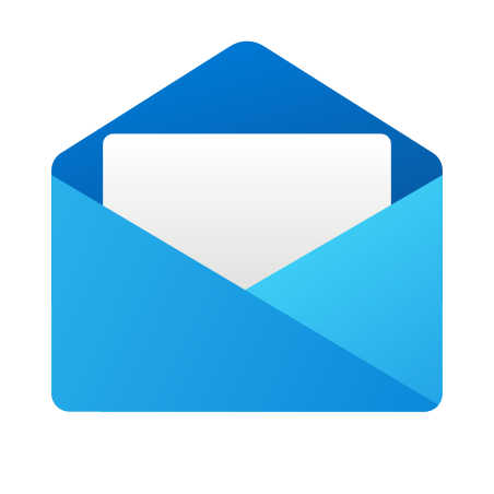 Email Open icon in Fluency