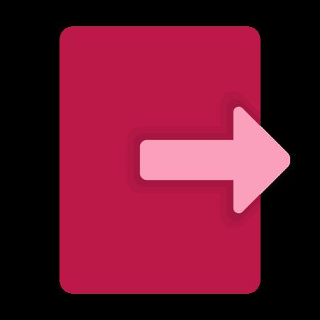 Export icon in Fluency