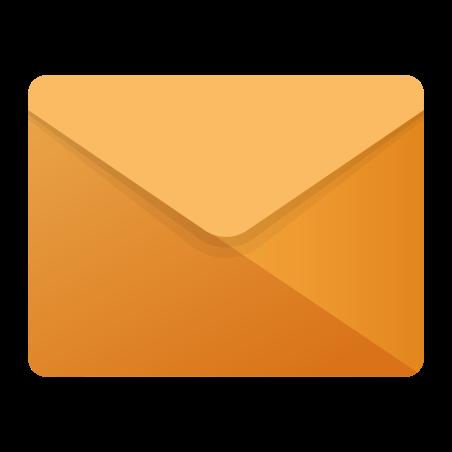 Envelope icon in Fluency
