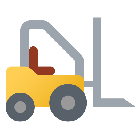 Fork Lift icon in Fluency