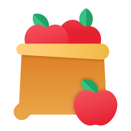 Fruit Bag icon in Fluency