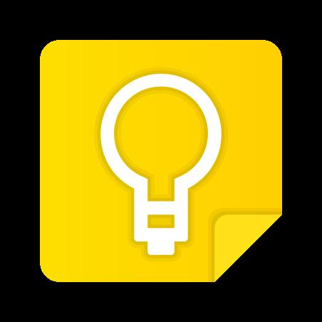 Google Keep icon in Fluency