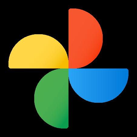 Google Photos icon in Fluency