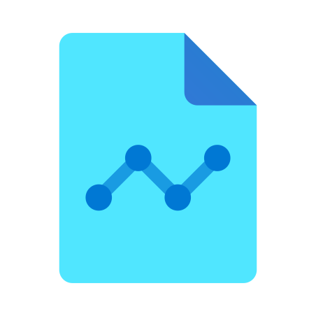 Graph Report icon in Fluency