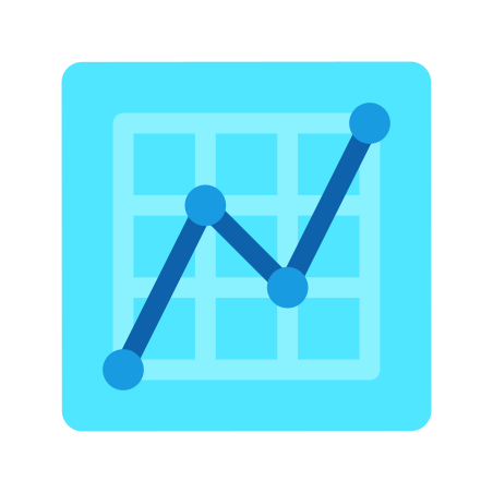 Graph icon in Fluency