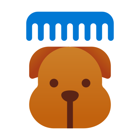 Grooming icon in Fluency